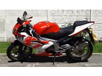APRILIA RS 125cc 2009.. ONLY 222 MLS £1950