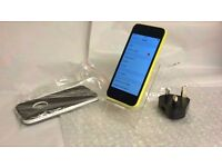Apple iphone 5c Any Network 8gb Perfectly working plus free case