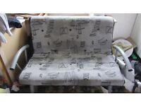 Sofa bed futon metal frame £25 ono