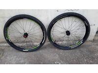"""Bontrager Duster 29"""" tubeless wheelset"""