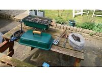Small partable camping Gas Lava rock barbeque