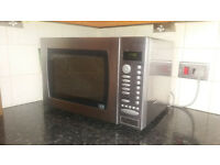 John Lewis microwave oven with grill and convection