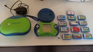 Leapster 2 gaming + Charging machine + 13 Games+ Carrying case Kitchener / Waterloo Kitchener Area image 1