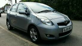 Toyota Yaris 1.3 vvti £30 tax fsh