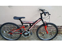 Boys / Teenagers full suspension Mountain Bike................