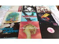 "RECORDS VINYL L.P'S: A JOBLOT OF 9 X 12"" VINYL SINGLES-MIX OF ROCK/DANCE/HOUSE/EURO/INDIE"
