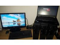 ThinkCentre m91p i5 2400 QUAD CORE 8GB DDR3 RAM 500gb Windows 10 Pro