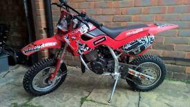 Malaguti Grizzly 10, 50cc Automatic off road motocross bike