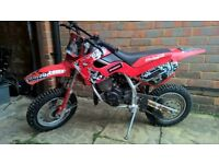 Malaguti Grizzly 10, 50cc Automatic off road motocross bike