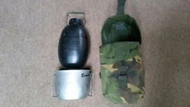 Crusader cooking kit with 58 patt bottle DPM pouch