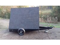 Advertising trailer 8 ft x 6 ft