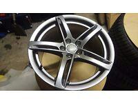 "Genuine Audi S5 18"" alloy wheels"