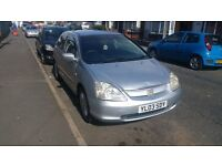 Honda Civic 1.4 2003 Silver 3dr Hatchback