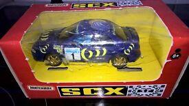 Scalextric Matchbox SCX Subaru Impreza 'Safari'