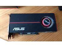 AMD Asus Radeon 5850 EAH5850/2DIS/1GD5 Graphics Card GPU