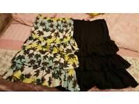 Girls strapless summer dresses 13-!4 yrs