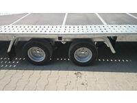 CAR TRAILER 2700 KILO 16 ft 7 ft tandem wheels BRAND NEW CHEAP