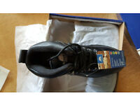 Millstone Black/Grey Discovery Safety Hiker Boots SIZE 9 Waterproof Warehouse, HGV Driving Walking
