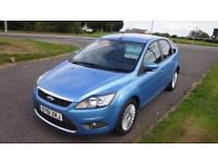 FORD FOCUS 1.6 TITANIUM TDCI,2011,17Alloys,Sat Nav,Cruise Control,Air Con,Privacy Glass,FSh,£30 Tax
