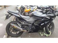 Kawasaki Ninja 250R. Super First Time Bike. Lightweight and fu