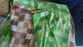 Minecraft reversible bedding