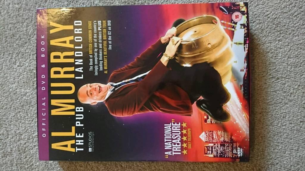 Al Murray dvd game boxset