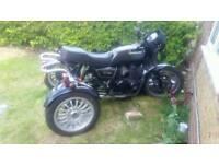 Kawasaki gt 550 trike