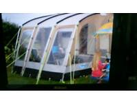 Kampa Rally Club 330 PORCH AWNING PALE GOLD
