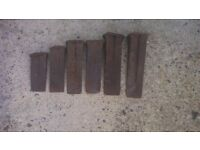 Metal log spliter's (6 various sizes)