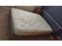 Jay-Be King Size Metal Bed Frame & Mattress