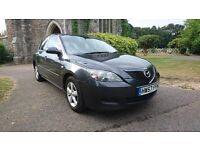 MAZDA3 1.6 D TS2 5dr in Grey mot until 22/01/17 with full service history timing belt changed