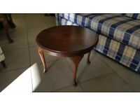 Coffee Table With Queen Anne Legs