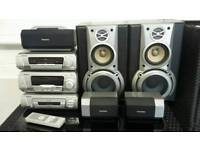 Technics EH750 5.1 surround sound hi-fi system