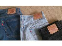 Levi Jeans 550 34 X 34