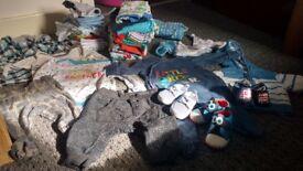 Baby boy clothes bundle ,0-3 m