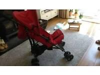 Light weight redkite pushchair/stroller