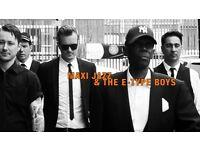 Maxi Jazz and the E Type boys at Oran Mor