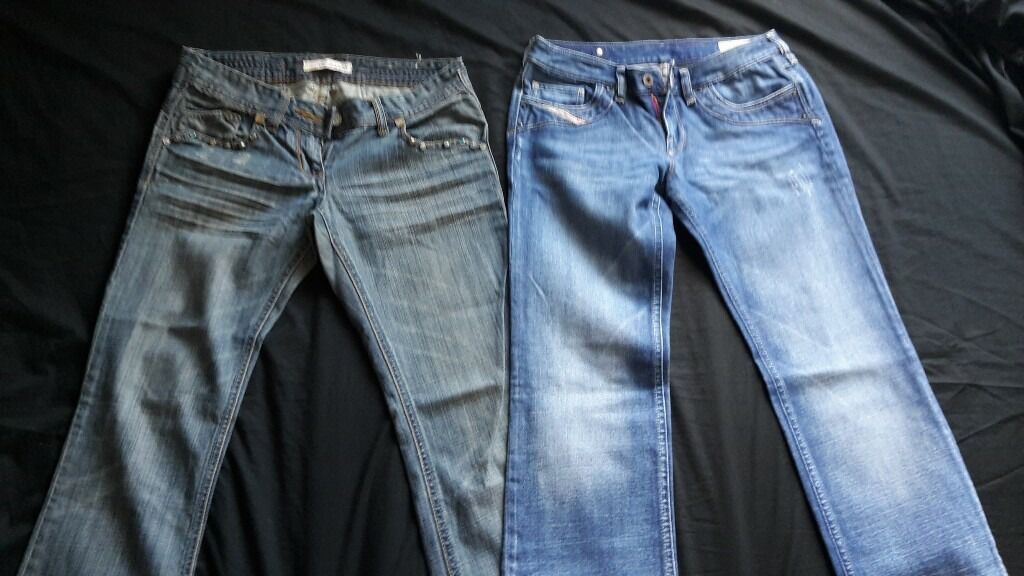 jeans and trousers for salein Mansfield, NottinghamshireGumtree - Jeans and trousers for sale. Used but in good condition. Various brands. Size 8 and 10. Jeans £ 2 each. Other trousers £1 each