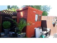 Garden shed...(solid construction)