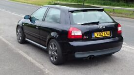 2002 audi s3 8L track car 278 bhp AEM meth injection HIGHLY MODIFIED
