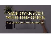 Looking For WEB DESIGN? Are You A Small Business? (SAVE £700+ with this offer!!!)