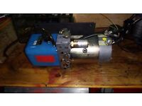 hydraulic power pack 24 volt dc motor ........... tools hobby project