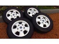 Ford Transit custom alloy wheels