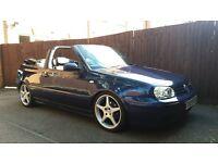 1999 vw golf cabriolet 2.0 petrol advantage