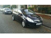 2008 Vauxhall Corsa Hatchback D 1.2 i 16v Life 5dr Petrol Black 1229cc Manual. Mileage 72000
