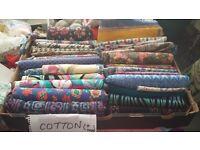 Fabrics, Craft items, Sewing, Threads