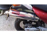 Honda xl125 Varadero (2002, 32493, full exhaust system)
