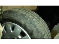 5x100 vw steel wheels with 195x65x15 tyres
