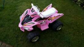 Children's Raptor 12v Quad Bike.