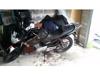 BLACK YAMAHA YBR125 FOR SALE